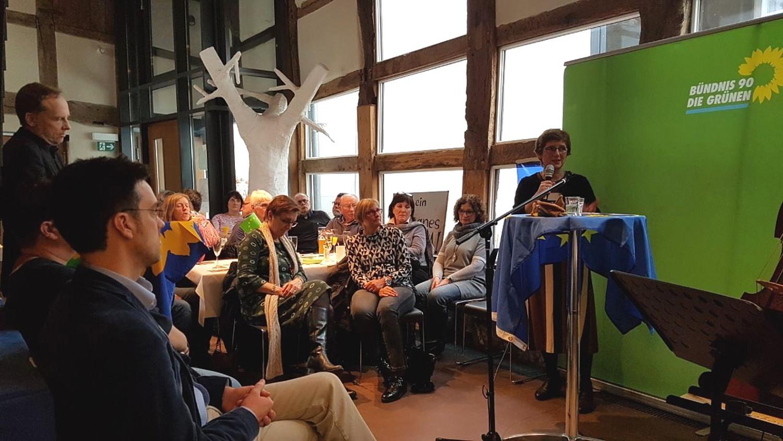 Neujahrsempfang – Britta Haßelmann fordert Lösung weltweiter Aufgaben durch Zusammenhalt in der EU