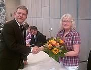 Waltraud Gedeik ist neues grünes Ratsmitglied