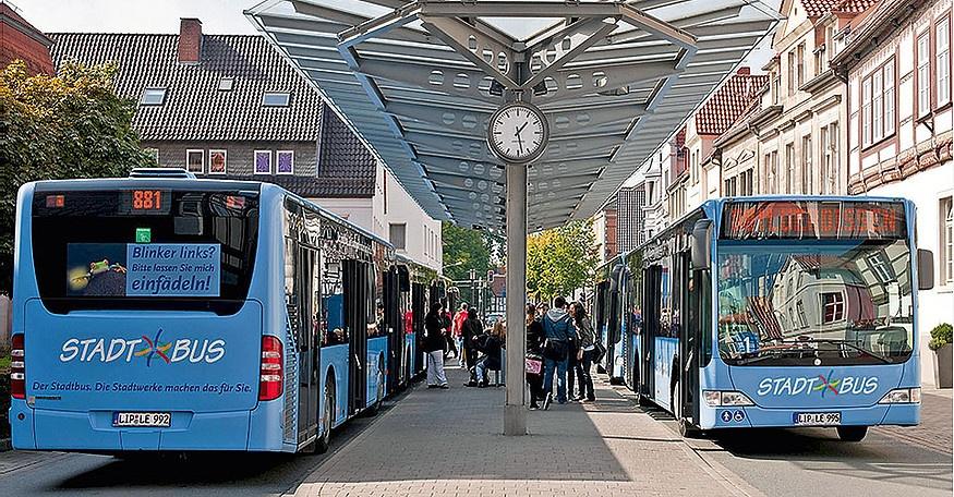 Neue Stadtbus-Tarife positiv für Bürger*innen und Umwelt | Anrufsammeltaxi am Abend und Wochenende