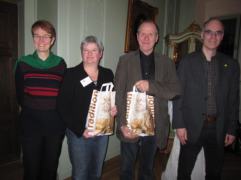 Ehrengäste beim Neujahrsempfang der Grünen Lemgo