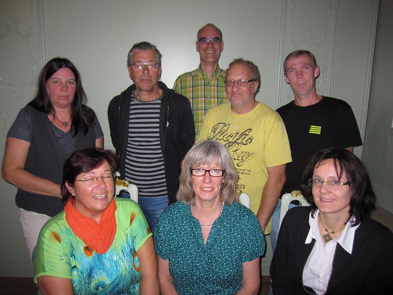 der neue Vorstand des Ortsverbandes von Bündnis 90/Die Grünen Lemgo