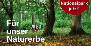 Für Mensch und Natur: Ja zum Nationalpark Teutoburger Wald