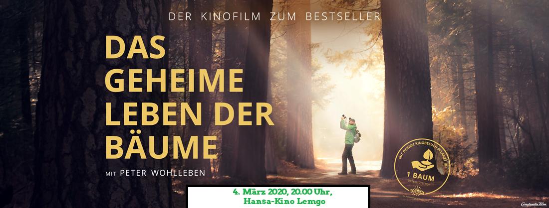 Kinoplakat FB Das geheime Leben der Bäume