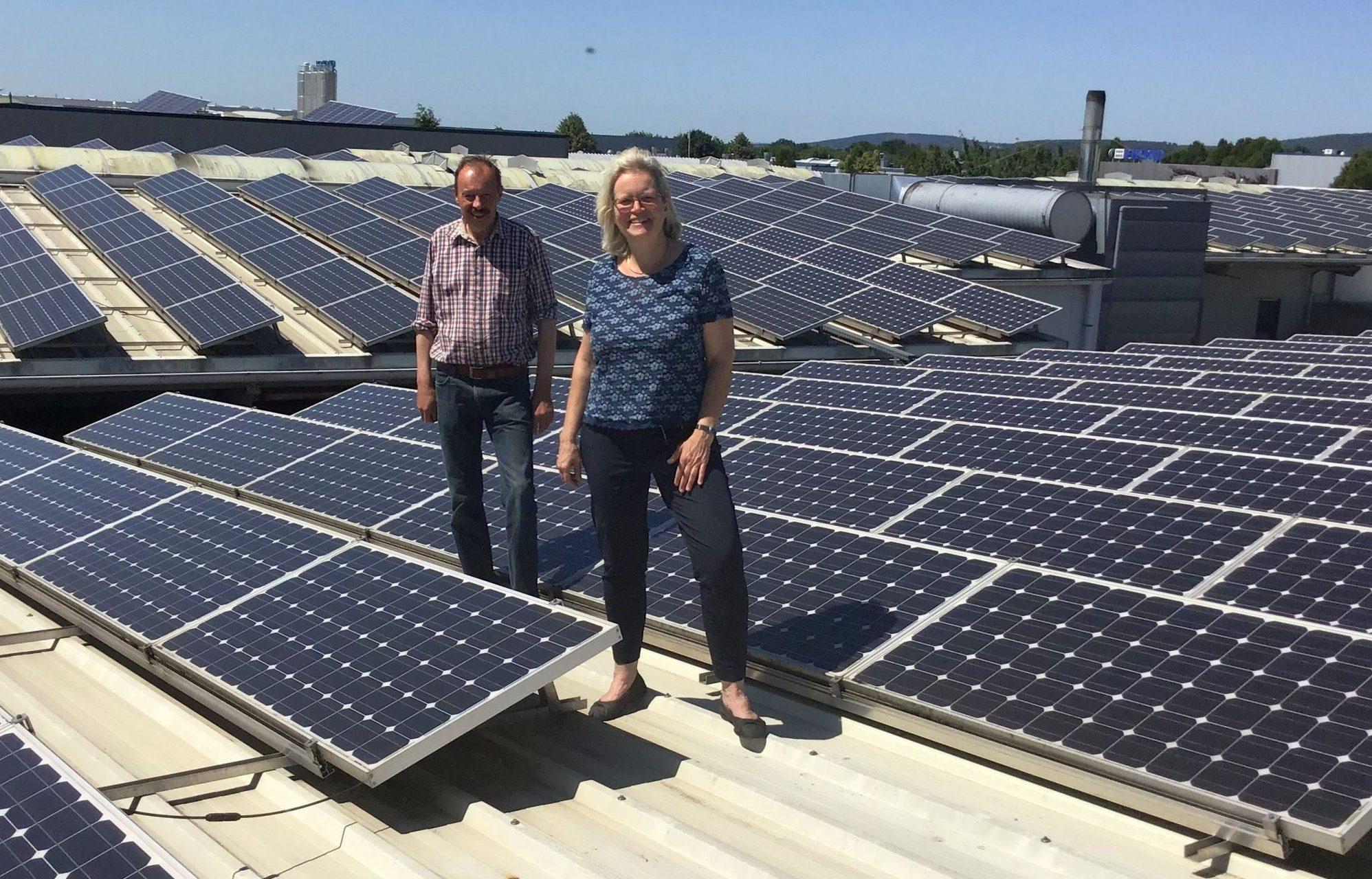 Großes Solar-Potenzial bei Unternehmen