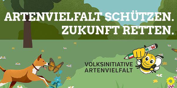 Pressemitteilung zur Volksinitiative Artenschutz
