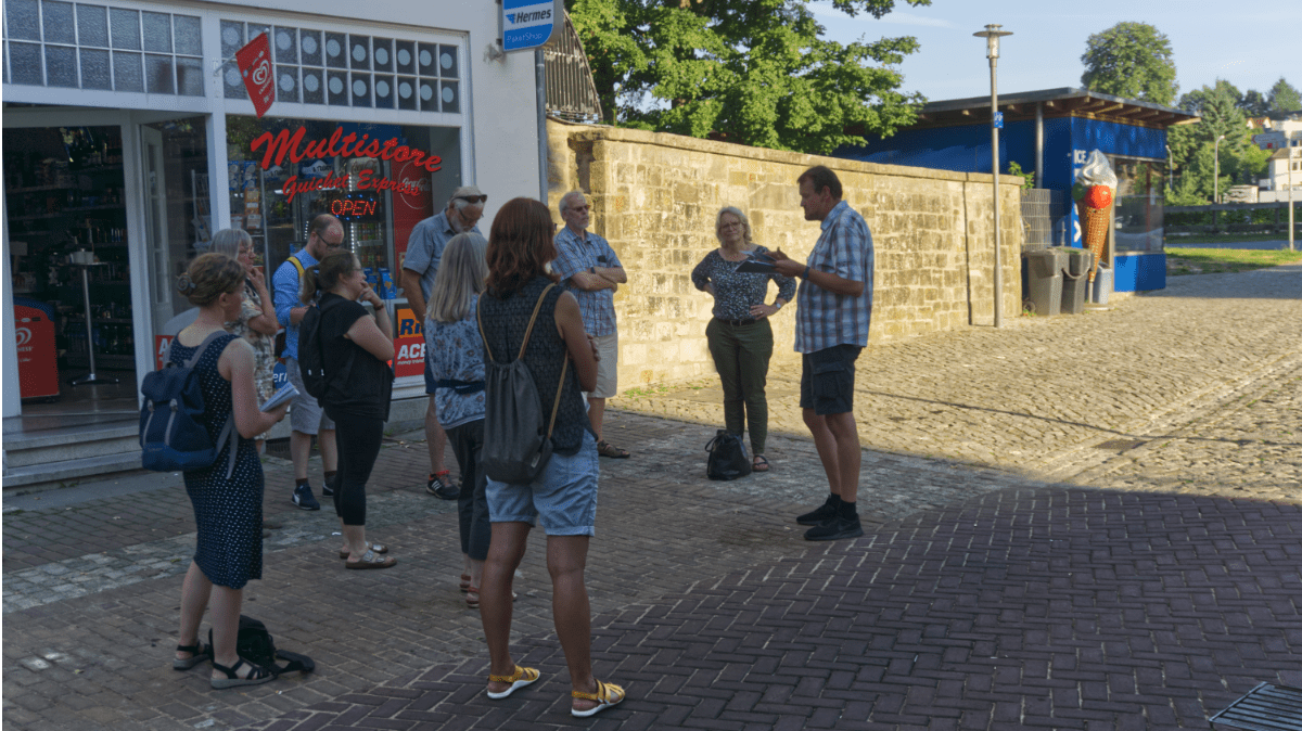 "Stadtrundgang ""Wie barriere-frei ist Lemgo?"""