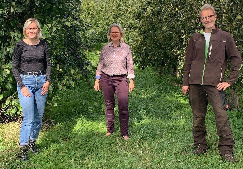 Obsthof Schäferkordt: Landwirtschaft kämpft gegen zwei Krisen