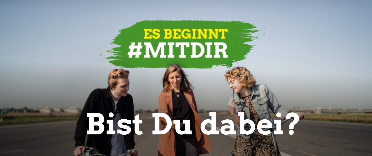Aus #mitUNS wird #mitDIR