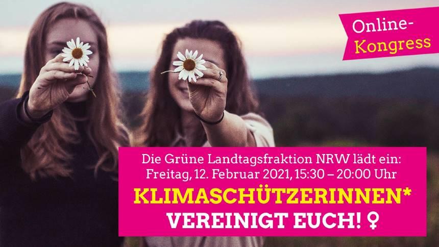 """Einladung """"Klimaschützerinnen* vereinigt euch!"""" (nur für Frauen*) am Freitag, 12. Februar 2021"""