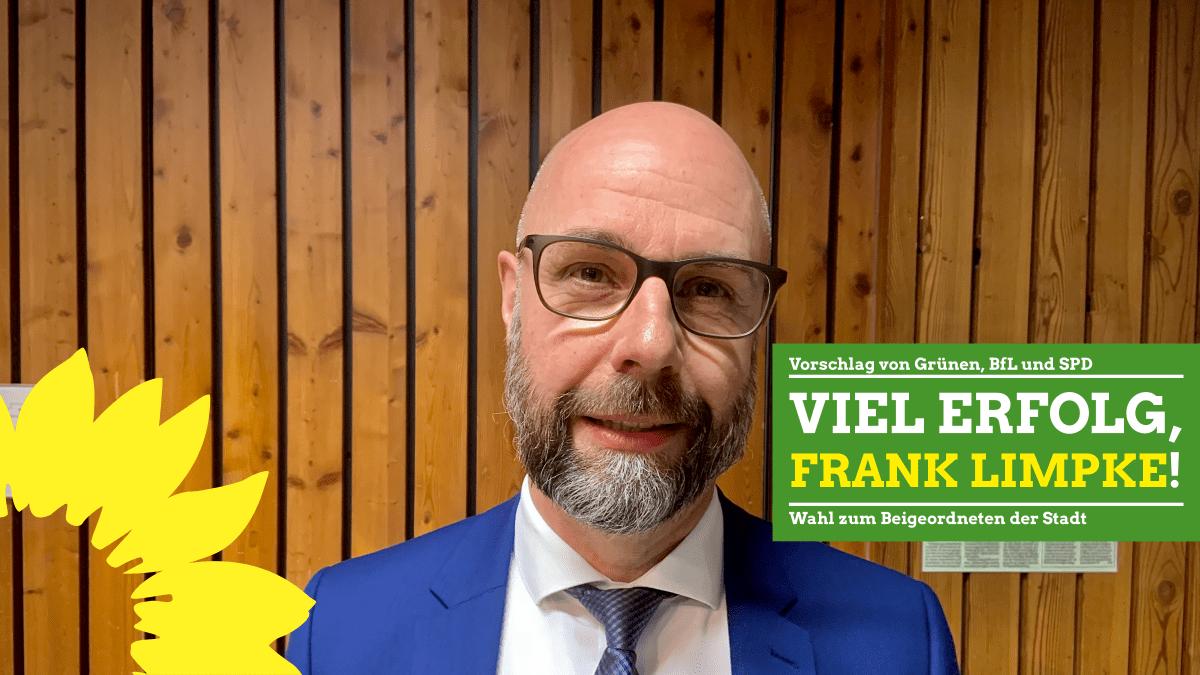 Wahl des Beigeordneten: Vorschlag von Grünen, SPD und BfL angenommen