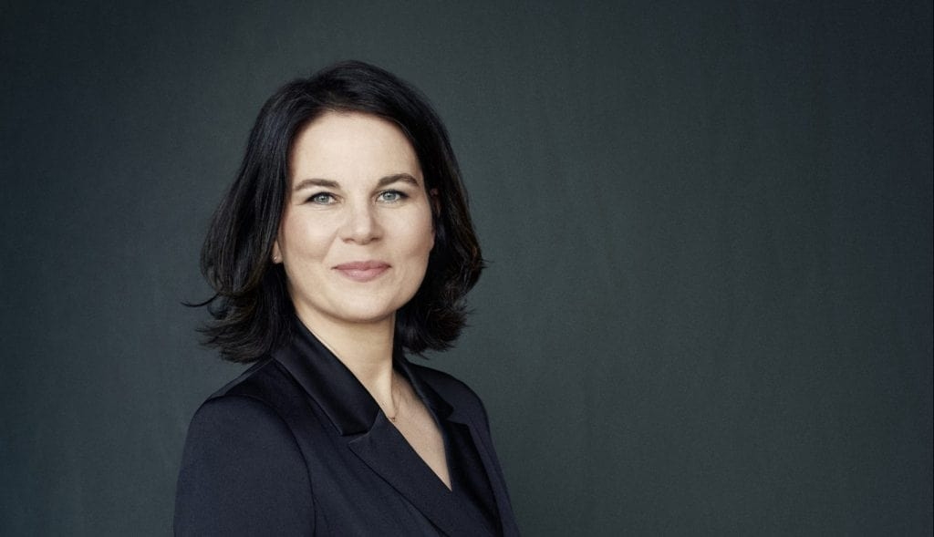 Unsere Kanzlerkandidatin: Annalena Charlotte Alma Baerbock