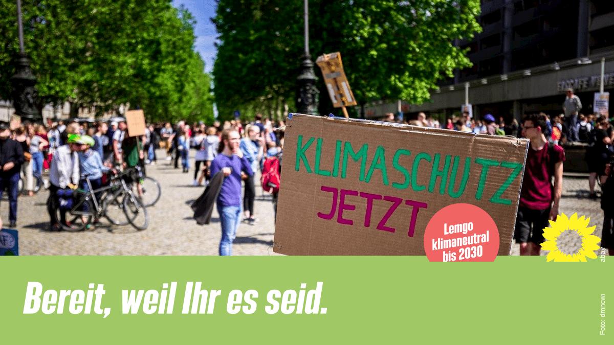 Unsere Position zum Antrag von Fridays For Future Lemgo #Lemgo_klimaneutral_2030
