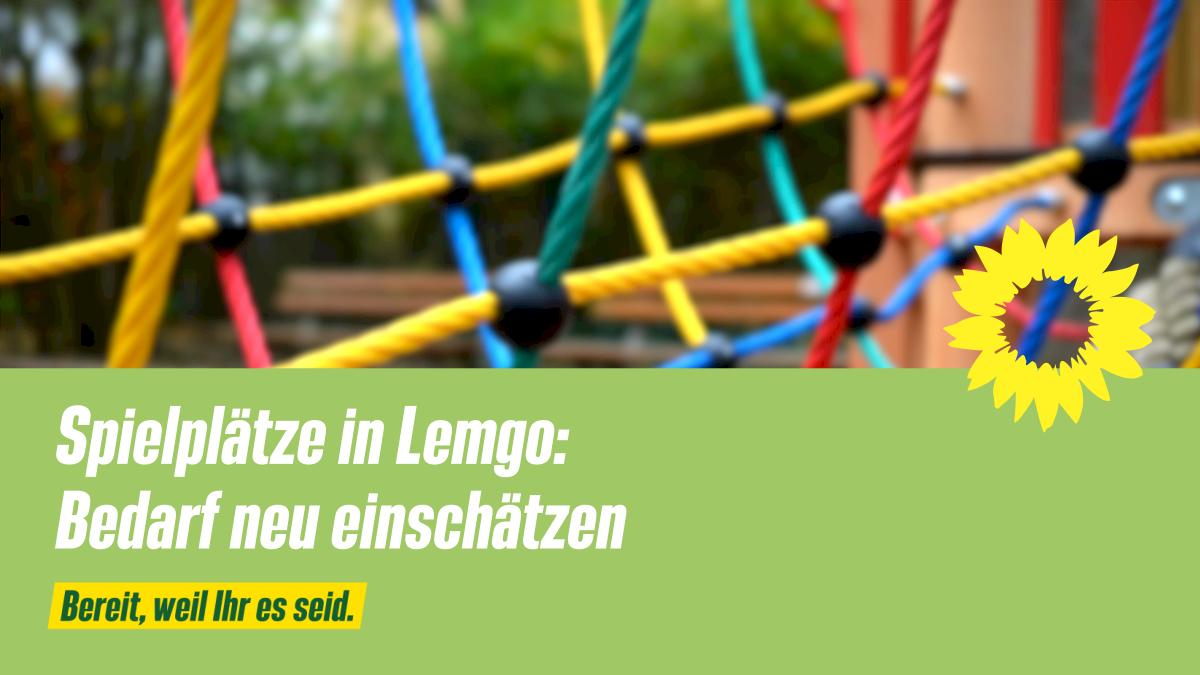 Beitragsbild zum Antrag Spielplätez in Lemgo - Bedarf neu einschätzen