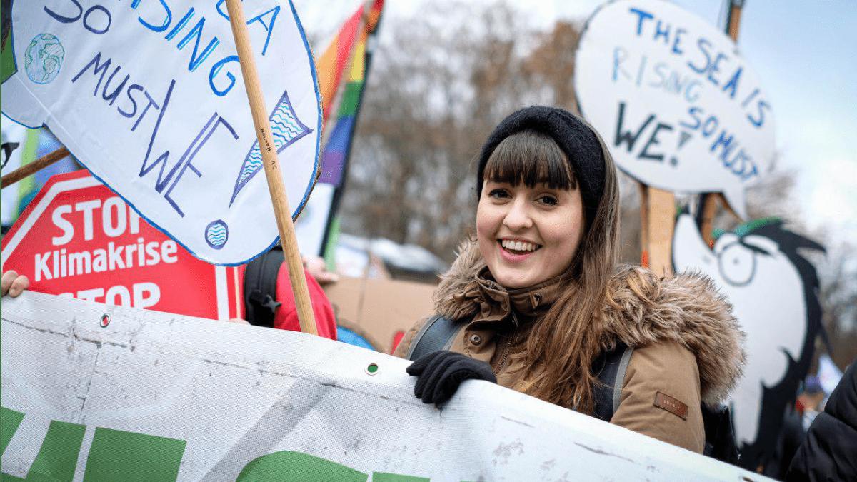 Anna Peters, Bundessprecherin der Grünen Jugend