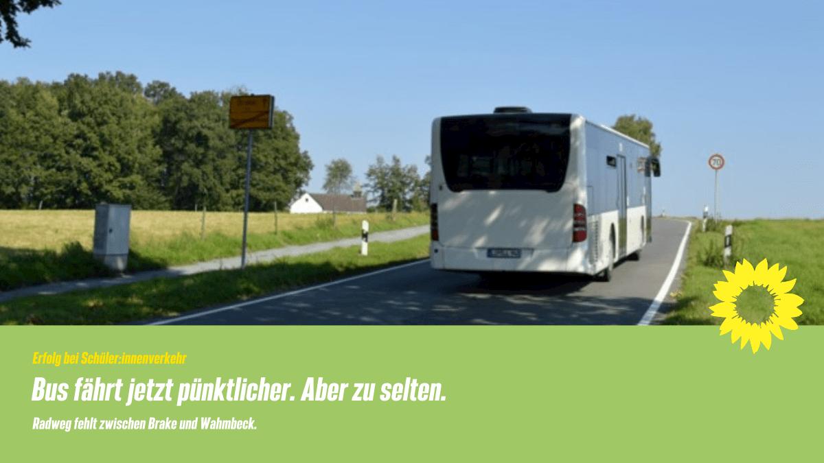 Gute Lösung für Wahmbeckerheide – Wir begrüßen neuen Busverkehr
